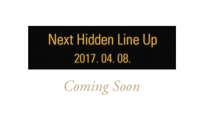 next Hidden Line up